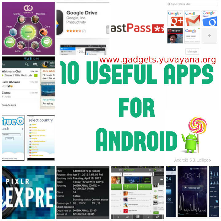 10 useful apps for android smartphone & tablet