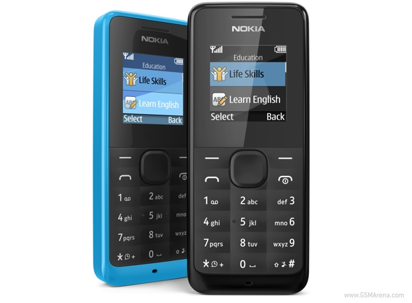 Nokia 105 dual sim phone