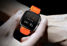 intex irist smartwatch images